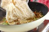 ゴーヤの素麺チャンプルーの作り方2