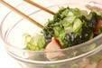 タコとキュウリの酢の物の作り方5