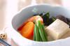 高野豆腐の煮物の作り方の手順