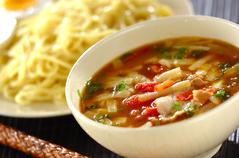トマトカレーつけ麺