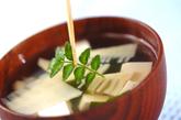 タケノコと豆腐のお吸い物の作り方2