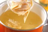 タケノコと豆腐のお吸い物の作り方1