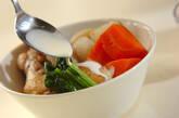 あったか鶏とカブのスープ煮の作り方6