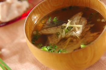 鯛のアラ汁