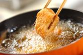 タラの香味から揚げの作り方2