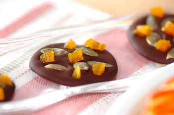 カボチャの種チョコ