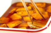 カボチャと鶏肉の揚げ浸しの作り方1