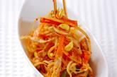 豆モヤシのピリ辛炒めの作り方7