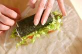 生春巻き風アジアン寿司の作り方6