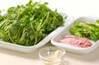 豆苗の炒め物の作り方の手順1