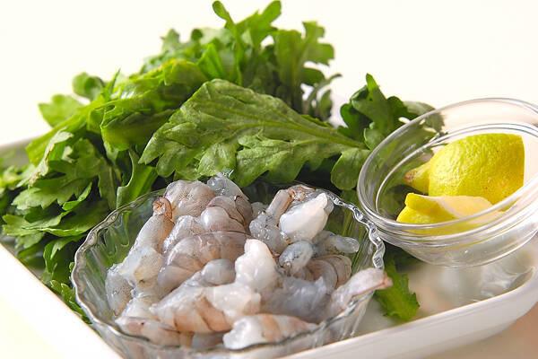 菊菜・かき揚げの作り方の手順1