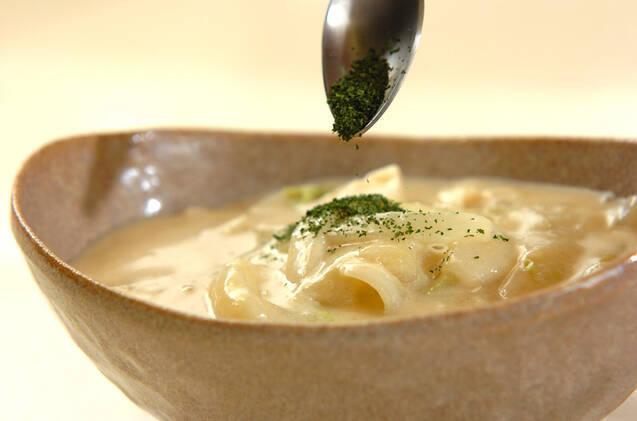くったり白菜のミルク煮の作り方の手順6