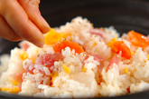 簡単海鮮混ぜ寿司の作り方3