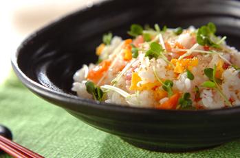 簡単海鮮混ぜ寿司