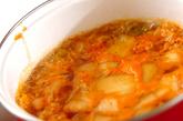 春雨キムチスープの作り方1