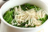 豆苗とエノキのゴマ和えの作り方2