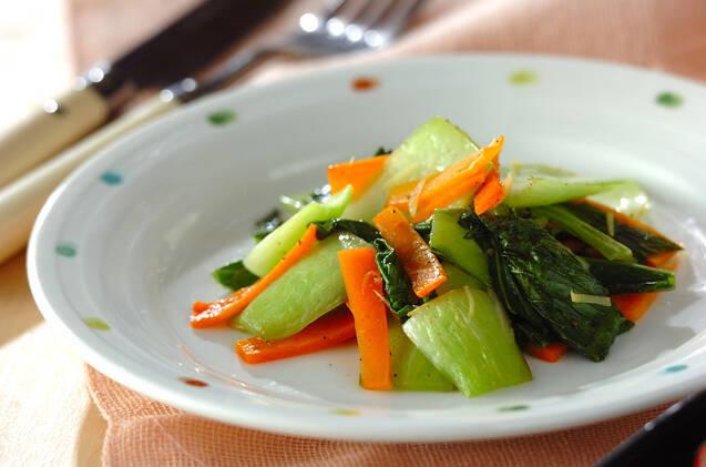 青梗菜のサッパリ炒め