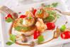 ホクホク長芋とエビ、ホタテのソテーの作り方の手順
