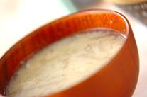 冬瓜のかきたま汁