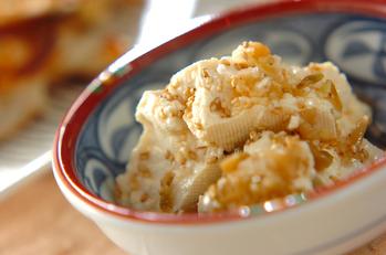 くずしザーサイ豆腐