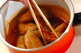 揚げ手羽の甘辛ダレの作り方3