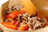 豚肉とトマトのナンプラー炒めの作り方2