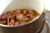 砂肝のオイル煮の作り方の手順3