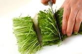 イカのお刺身サラダの下準備2