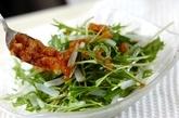 イカのお刺身サラダの作り方1