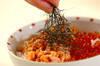 鮭とイクラの親子丼の作り方の手順3