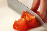 冷やしトマトのデザートの作り方2