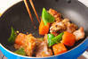 鶏肉のみそ炒めの作り方の手順4