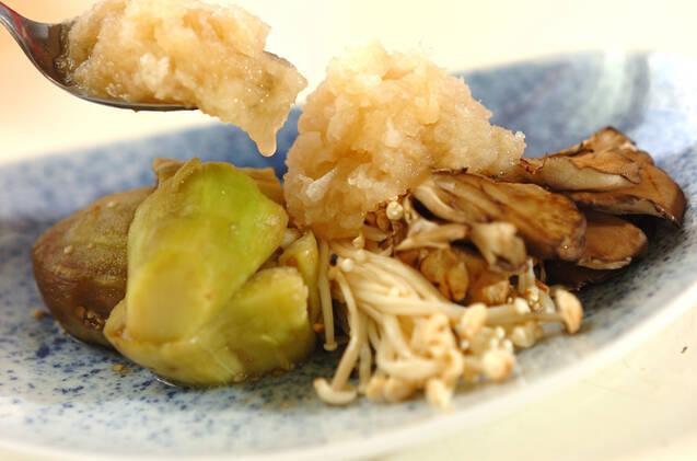 焼き野菜のおろし甘酢のせの作り方の手順6