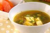 豆腐のカレースープ