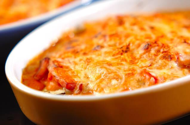 ナスのクリームトマトグラタンの作り方の手順8