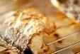 スズキの塩焼きの作り方2