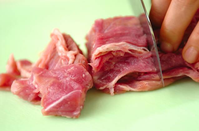 豚のり唐揚げの作り方の手順1