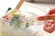グレープフルーツサラダの作り方1