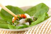 海鮮バジルサラダの作り方4