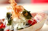 ワカメと玉ネギの和風サラダの作り方1