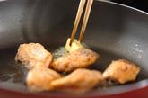 サーモンと白菜のソテーの作り方2