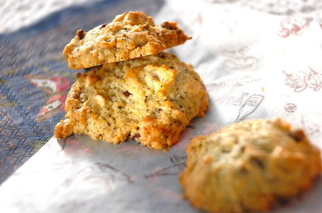 紅茶の風味が香る紅茶チョコチップクッキー
