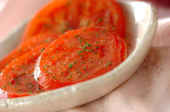 トマトのワイン漬け