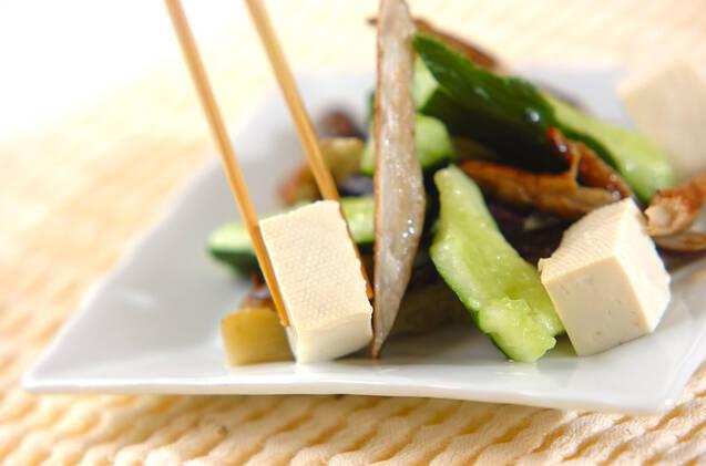 ナスと豆腐のバンバンジー風の作り方の手順7
