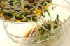 モヤシとニラの炒め浸しの作り方の手順6