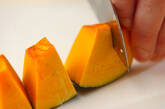 カボチャあんの白玉団子の作り方3
