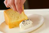 セサミのシフォンケーキの作り方16