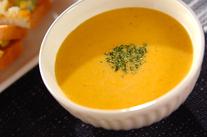 簡単カボチャのコーンスープ