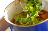 大根と湯葉のトロミ汁の作り方2