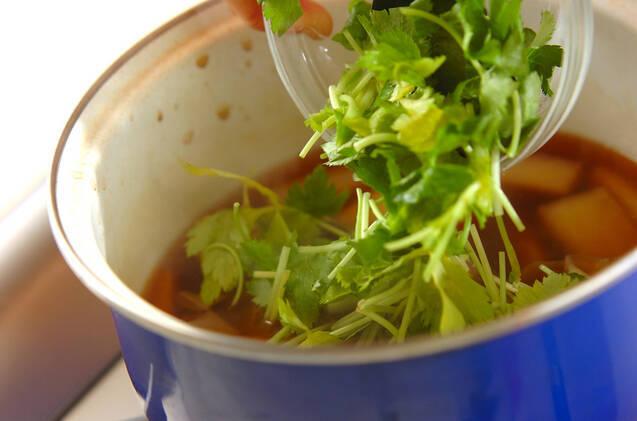 大根と湯葉のトロミ汁の作り方の手順5